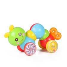 Игрушка <b>каталка</b>-<b>гусеница</b>, звук от <b>Huile</b>, Y1567385 - купить в ...