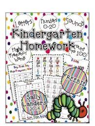 ideas about Kindergarten Homework on Pinterest