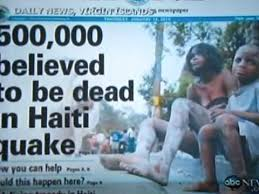 「2010 haiti earthquake newspaper」の画像検索結果