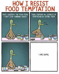 Resisting Food Temptation | Funny Pictures, Quotes, Memes, Jokes via Relatably.com