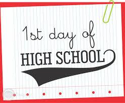 my first day of high school essay i recall my first day of high school group