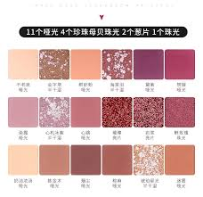 Women's <b>Fashion 18 Colors</b> Nude Eyeshadow Palette Shimmer ...