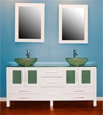 vessel vanity cambridge top cambridge plumbing bw  inch solid wood vanity with frosted glass count