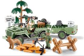 <b>Конструктор COBI</b> Джип с прицепом <b>Jeep</b> Willys MB with 1:4 Ton ...
