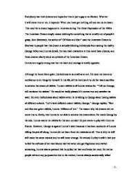 the american dream quotof mice and menquot   gcse english   marked by  page  zoom in