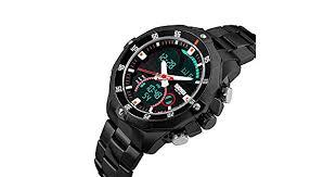 <b>SKMEI</b> Practical <b>Trendy</b> Analog-Digital Dual Time Men Watch 3ATM ...