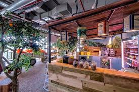 inside the new google tel aviv officeview project google tel aviv cafeteria