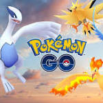 Articuno, Zapdos, Moltres, Lugia: All Legendary Birds are Spawning for Raids in 'Pokémon GO'