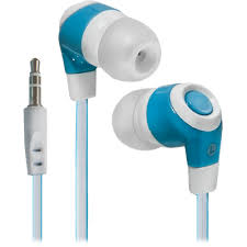 In-ear headphones <b>Defender Trendy</b>-702 white + blue