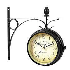 <b>WINOMO</b> Wall Clock European-style Double-sided Creative Classic ...