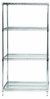 get quotations quantum storage systems rwr72 1848ld 4 tier wire shelving unit chrome finish cheap office shelving