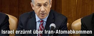 Der israelische Ministerpräsident Benjamin Netanjahu - iran_atomgespraeche_einigung_israel_netanyahu_2q_innen_a.4529803
