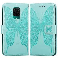 Image Of Imprint <b>Butterfly Wallet Leather Cover</b> Case for Xiaomi ...