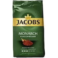 Купить <b>Кофе молотый Jacobs Monarch</b> классический 70 г. в ...