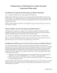FAQ Regarding Use of <b>KN95 Respirators</b> Available Through the ...
