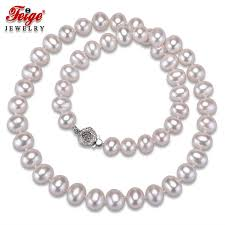 2019 High Quality White Natural Pearl Necklaces For Women ...