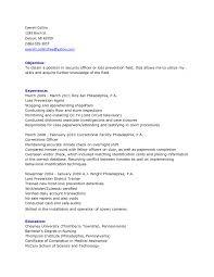 sample resume for police detective