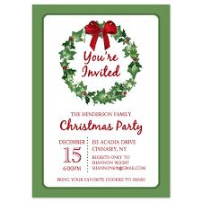 elegant christmas invitations hd invitation card christmas party invitations printable