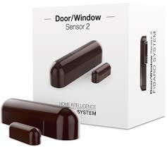 <b>Датчик</b> открытия двери/окна <b>Fibaro Door</b> / <b>Window Sensor</b> Dark ...