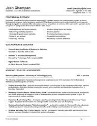 Example Resume  Marketing Manager And Education For Marketing Manager Resume Template With Technical Skills  VisualCV