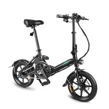 <b>FIIDO D3 Folding</b> Electric Bicycle 7.8AH Battery Dual Disc Brake ...
