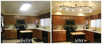 kitchen lighting before and after chair aac22 roble lacado