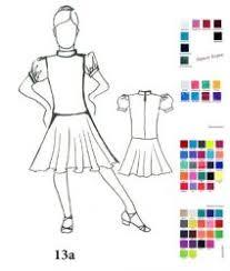 <b>Рейтинговые платья</b> для бальных <b>танцев</b>