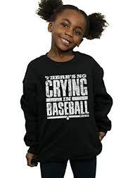 Absolute Cult Mindspark Girls Baseball <b>Quote Sweatshirt</b>: Amazon ...