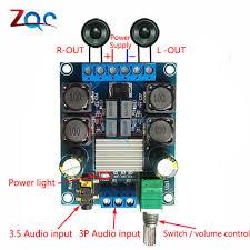 50Wx2 <b>TPA3116D2</b> Dual Channel DC 4.5 27V Digital Power ...