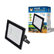 <b>Прожектор светодиодный</b> 30 Вт, синий свет, IP65 <b>Volpe</b> купить ...