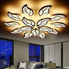 <b>LICAN Modern LED Ceiling</b> Chandelier Light White Black AC85 ...