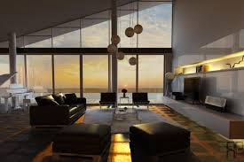 modern living space fashion statement for stunning living room
