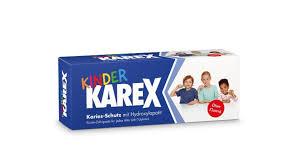Karex® детская <b>зубная паста без содержания</b> фтора, 50 мл ...