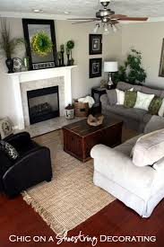Jute Rug Living Room Chic On A Shoestring Decorating Let39s Cut A Rug