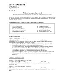 hotel manager resume templates   resume template databasehotel resume templates objective