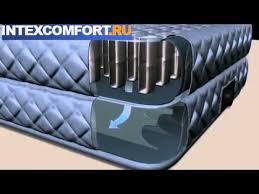 <b>Надувная кровать intex</b> 66962 - YouTube