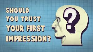 should you trust your first impression peter mende siedlecki should you trust your first impression peter mende siedlecki ted ed
