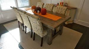 rustic hutch dining room: white vintage rustic dining room table and chairs with hutch