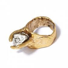 <b>Бронзовое кольцо</b> с пиритом - купить за 6 000 руб. в Москве ...
