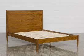 alton cherry full platform bed  living spaces