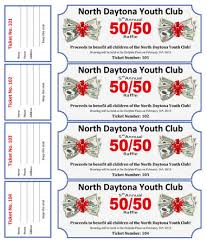 15 Free Raffle Ticket Templates in Microsoft Word - Mail Merge 50-50 Cash Raffle for Youth Club