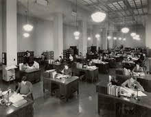 1937 image of the division of classification and cataloging national archives united states century office equipment