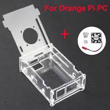 Для <b>Orange Pi</b> PC акриловый прозрачный чехол коробка ...