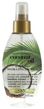 Купить легкое <b>масло</b>-<b>спрей для волос с</b> кокосовым маслом ...
