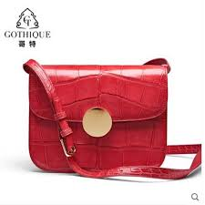 gete crocodile leather 2019 new slant straddle bag for women stylish belly lady handbag