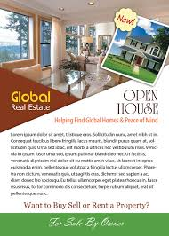 open house flyer template photoshop version flyer templates open house flyer template
