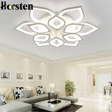 Horsten <b>Remote Control Modern LED</b> Ceiling Lights For Living ...