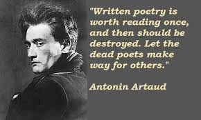 Image gallery for : artaud quotes