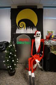 christmas decorations office holiday decorating ideas nightmare before christmas office aisle decoration