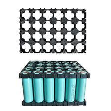 Espeedy 5/10 Pcs 4x6 <b>Cell</b> Spacer <b>18650 Li-ion Battery</b> Holder ...
